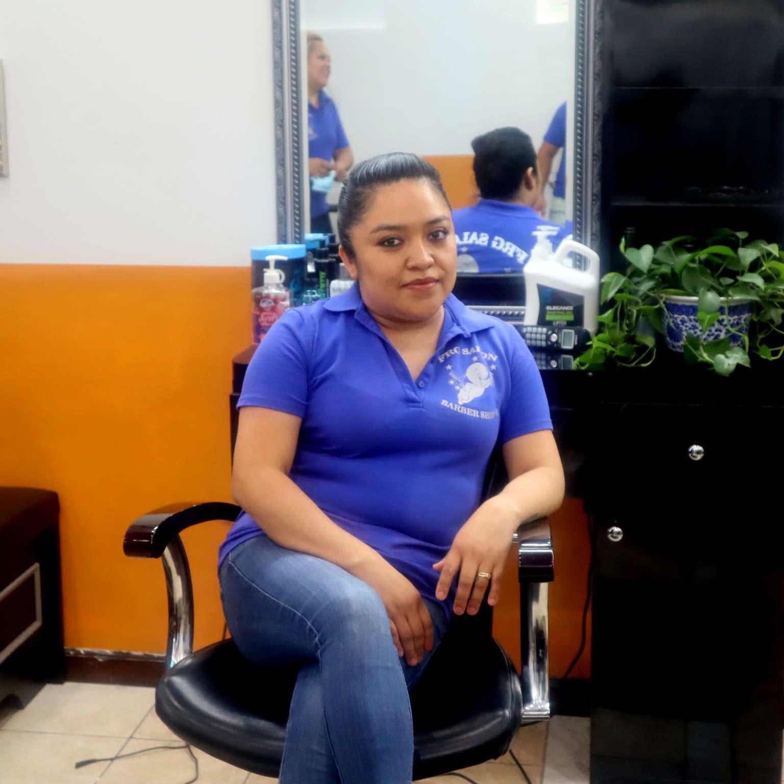 Mariela head stylist